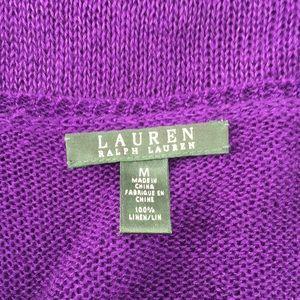 Lauren Ralph Lauren Tops - Lauren Ralph Lauren Linen Tank